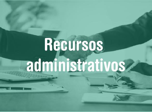 Recursos administrativos 2